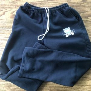 Black Gildan sweatpants size XL